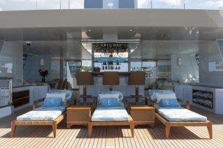 ESTER III Yacht - Sun Deck - Photo by Klaus Jordan