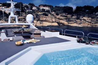 Element -  Sundeck and Spa Pool