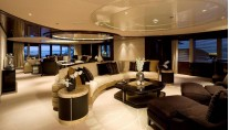 Eminence Yacht - Main Saloon - Interior by Reymond Langton Design