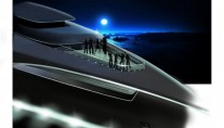 Entertainment on board of QI yacht - A 2011 Feadship Yacht Concept