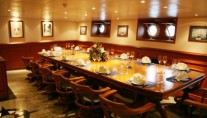 Expedition Yacht SARSEN - Dining Room