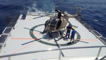 Expedition support vessel GLOBAL - heli pad