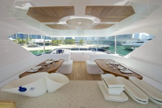Expedition yacht Gulf 75 Exp - Flybridge