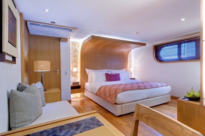 Expedition yacht SALILA -  Master Cabin