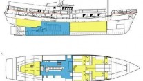 Expedition yacht TOGO -  Deck Plan