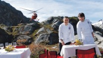 Explorer Yacht ATMOSPHERE -  Lunch with the Chefs