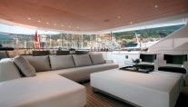 Exterior of the charter yacht Rosehearty by Perini Navi