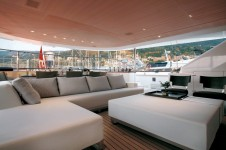 Exterior of the charter yacht Rosehearty by Perini Navi.png