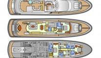 FANTASEA - Yacht Layout