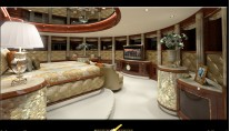 FB253 Diamonds Are Forever Superyacht Master suite
