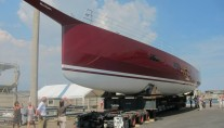FC100 superyacht Nomade IV by Maxi Dophin at launch