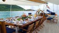 FLEURTJE -  Aft Deck Alfresco Dining