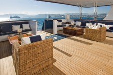 FORCE BLUE - Aft deck