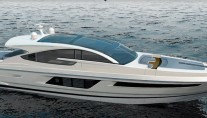 Fairline superyacht Targa 75GT