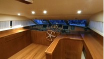 Falcon 115 Yacht Helios - Bridge