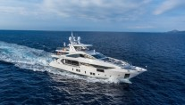 Fast Displacement Vivace 125 Superyacht IRON MAN by BENETTI - Photo credit Quin BISSET