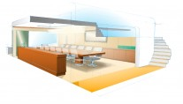 Feadship Breathe Yacht Concept - Conference room
