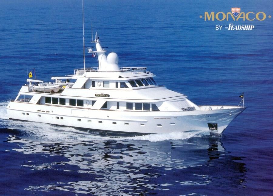 Monaco Yacht Charter Details Feadship Motor Yacht
