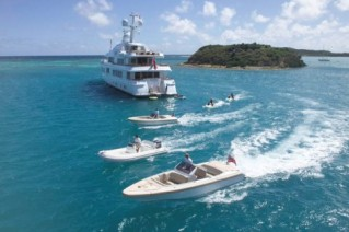 Feadship Motor Yacht HUNTRESS - Some Water Toys