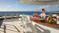 Feadship Motor Yacht HUNTRESS - Sundeck Bar