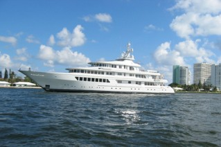 Feadship Motor Yacht Side Profile