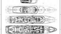 Feadship Motor Yacht layout