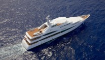 Feadship Super Yacht Lady Christine - Birds View