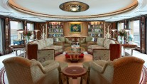 Feadship Super Yacht Lady Christine - Main Deck Lounge