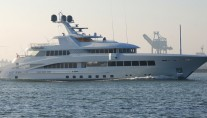 Feadship super yacht ROCK.IT (hull 687) - Photo credit to Kees Torn