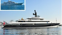 Feadship superyacht FALCON LAIR before and after refit at Compositeworks