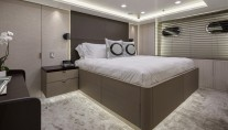 Feadship yacht BROADWATER - Guest cabin lower deck