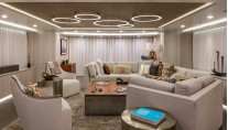Feadship yacht BROADWATER - Salon view aft