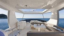 Ferretti 740 - Al Fresco Dining Area