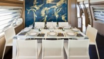 Ferretti 740 - Dining Table accommodating eight guests