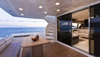 Ferretti 740 - View of the Exterior Detail