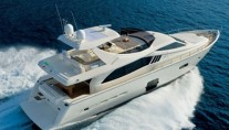 Ferretti 740 Birds View