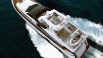 Ferretti 800 Super Yacht - View from the top