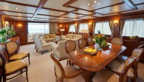Ferretti Motor Yacht IMAGINE - Salon and dining