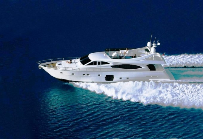 Ferretti yachts are designed with speed and comfort in mind and this ...