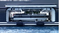Fincantieri SERENE superyacht - tender launch