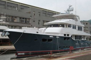 First Nordhavn 96 Yacht nearing completion