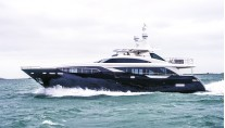 First Princess 30M KOHUBA under sea trial