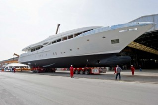 First-hull-of-Mangusta-148-Oceano-Motor-yacht-by-Overmarine