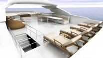 Fly Deck - M:Y BaiaMare - Image courtesy of Ned Ship Group