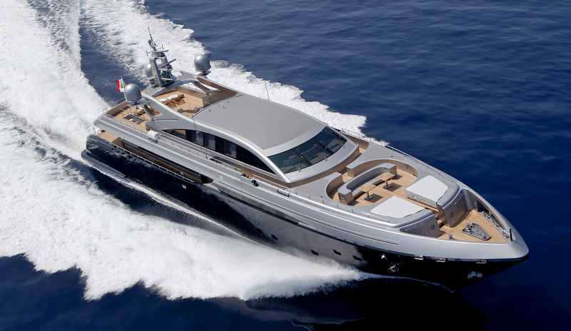 Framura 3 Yacht At Full Speed