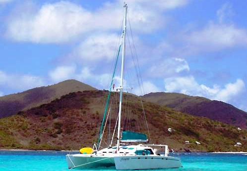 Sailing Catamaran Frangines