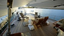 Freedom -  Aft Deck Lounging