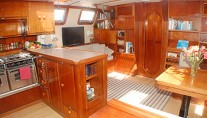 Freedom - Saloon and Galley