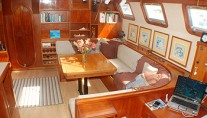 Freedom - Saloon from Companionway