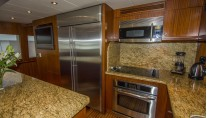 Freedom R yacht - galley